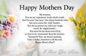Happy Mothers Day 2016 – Mothers Day Wishes, Greetings ...