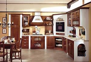 Awesome Cucine Moderne Color Ciliegio Images Ubiquitousforeigner Us ...