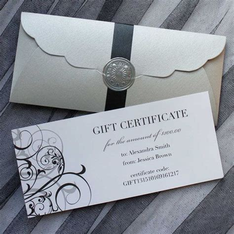 gift certificate add designs  limit gift certificate