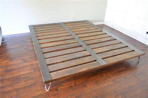 platform bed frame best 25 industrial platform beds ideas on Industrial
