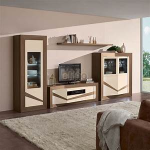 Meuble Tv Bois Massif Moderne : ensemble meuble tv bois maison design ~ Teatrodelosmanantiales.com Idées de Décoration