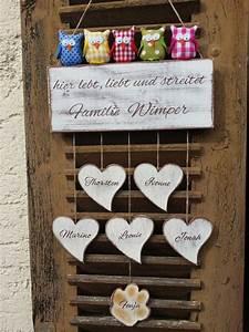 Türschild Familie Holz : personalisiertes namensschild t rschild willkommen von ~ Lizthompson.info Haus und Dekorationen