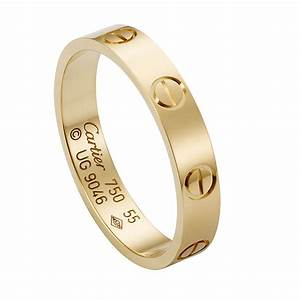 Cartier love yellow gold wedding band engagement rings for Cartier gold wedding ring