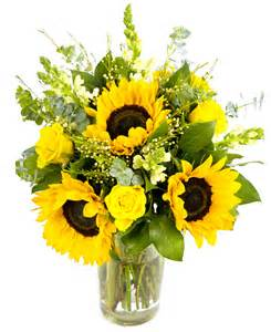 artificial flower bouquets sunflower bouquet creams yellows flowers by flourish