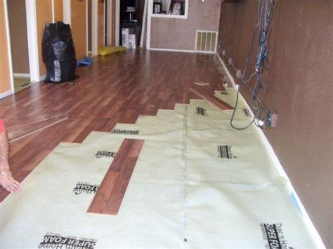 flooring installed laminate flooring installation laminate flooring underlayment