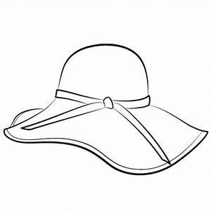 A sun hat - Clip Art Library