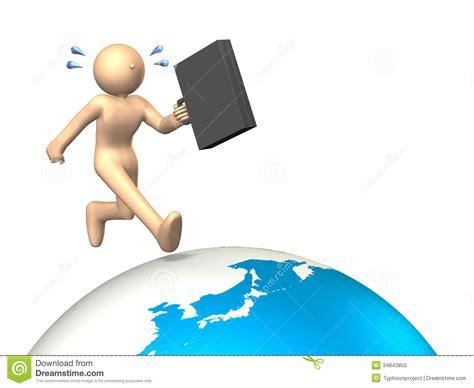 Overseas Business Trip Stock Illustration Illustration Of