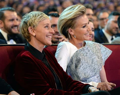 And Portia by Degeneres And Portia De Go On Date Amid