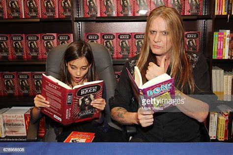 Worlds Best Sebastian Bach Signs Copies Of 18 And Life On