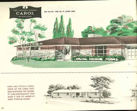 creative ideas for bathroom factory built houses 28 pages of lincoln homes from 1955