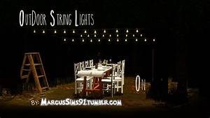 My sims 3 blog outdoor string lights by marcussims91 for Sims 3 outdoor string lights