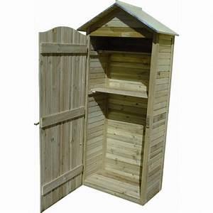 Armoire De Terrasse : armoire de jardin en bois trait autoclave plancher jardipolys ~ Farleysfitness.com Idées de Décoration