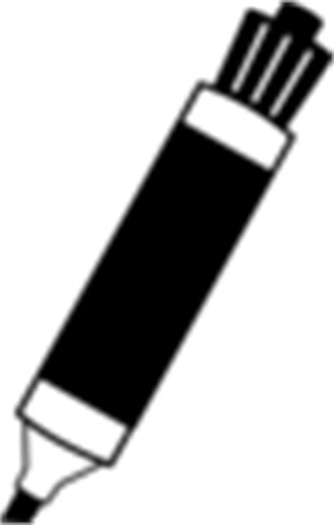 marker clipart black and white black marker clip at clker vector clip