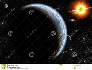 Sun And Planets Stock Photos - Image: 28925923