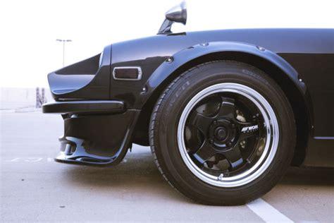 Datsun Fender Mirrors by Datsun 280z Restored V8 Work Wheels Fender Mirrors New