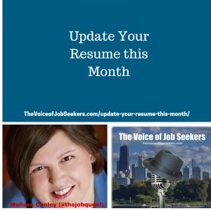 updating your resume for 2018 update your resume this month the voice of seekers