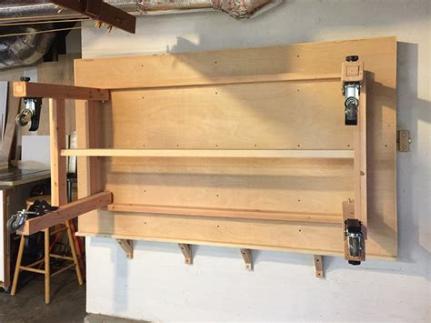 rolling assembly tableworkbench  folding height