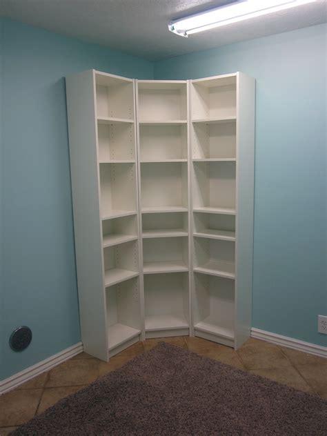 White Corner Bookcases Image Yvotube