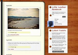 Little Leather Notebook | Tumblr