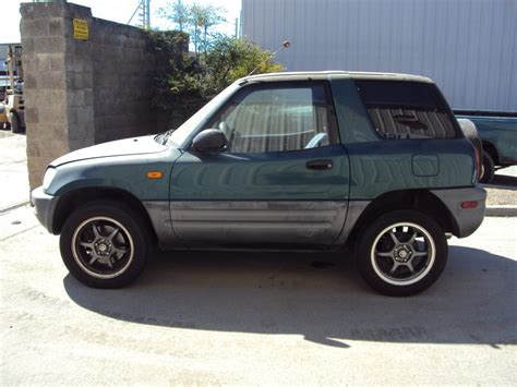 toyota 2 door suv 1996 toyota rav4 2 door suv 2 0l mt awd color green z13471