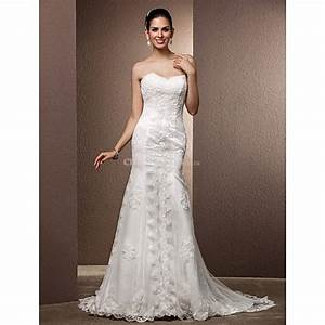 trumpet mermaid plus sizes wedding dress ivory court With plus size trumpet wedding dress