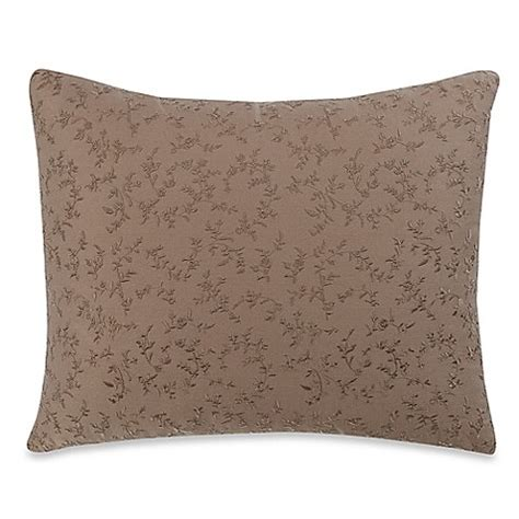 bed bath and beyond sofa pillows wamsutta vintage washed embroidered oblong throw pillow