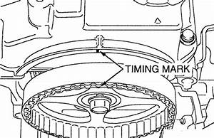Service Manual  How To Set Timing Marks On A 2003 Mercury