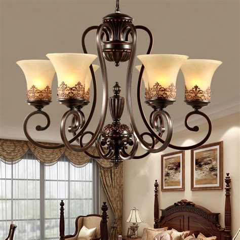 luxurious classical european chandelier living room