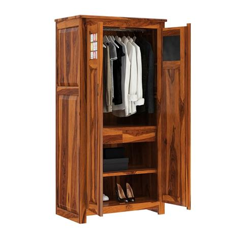 Wardrobe Cabinet With Drawers by Elba Solid Wood Door Armoire Wardrobe With Drawers