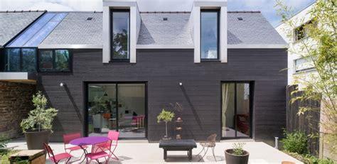maison de quartier rennes maison bois contemporaine par cl 233 ment bacle 224 rennes construire tendance