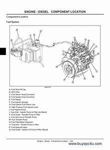 John Deere Gator Utility Vehicle Ts Th 6x4  U0026 Th 6x4 Diesel