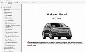 2017 Ford Edge Repair Manual