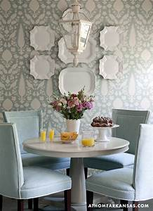 Very nice decor for a cozy dining room. Great matching ...