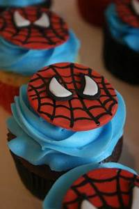 best 25 spider man cupcakes ideas on pinterest With spiderman template for cake