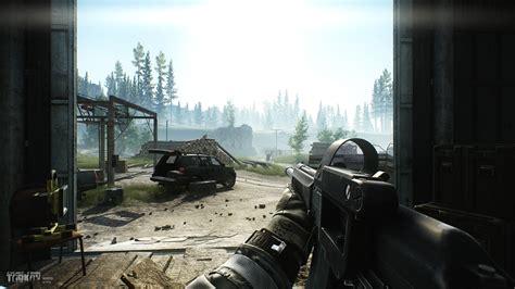 war game escape  tarkov  person shooter