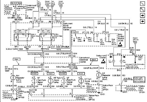 2000 Corvette Turn Signal Wiring Diagram by Schematics