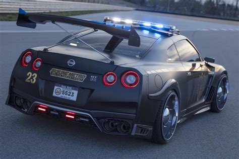 nissan gt  police car aka copzilla gearnova