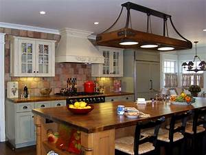houzz kitchens traditional stainless steel overhead racks antique wood table oversized shade round pendant lamp gray marble island white ceramic sink 1138