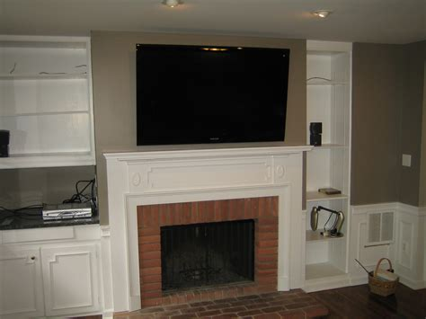 Wall Mount Tv Over Fireplace Home Decor Renovation Ideas