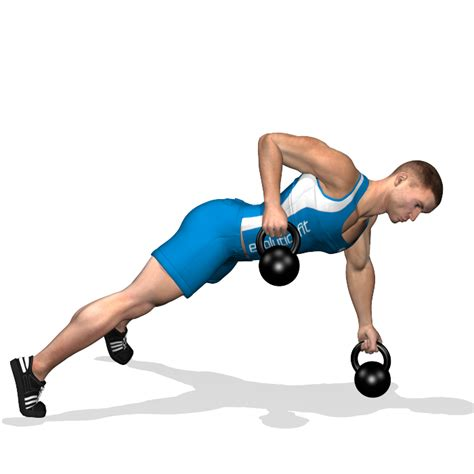 kettlebell lats renegade evolutionfit involved muscles training during