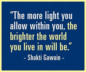 Creative Visualization - My Favorite Shakti Gawain Quotes