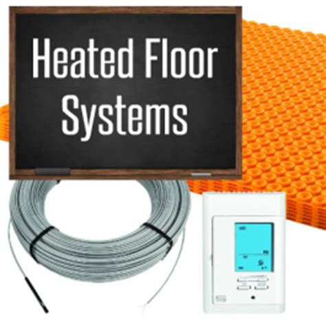 Schluter Heated Floor Kit by Ditra Heat E Kits Nuheat Underfloor Heating