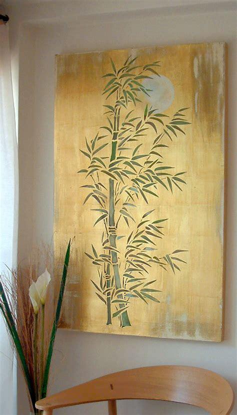 oversize bamboo amp moon stencil henny donovan motif