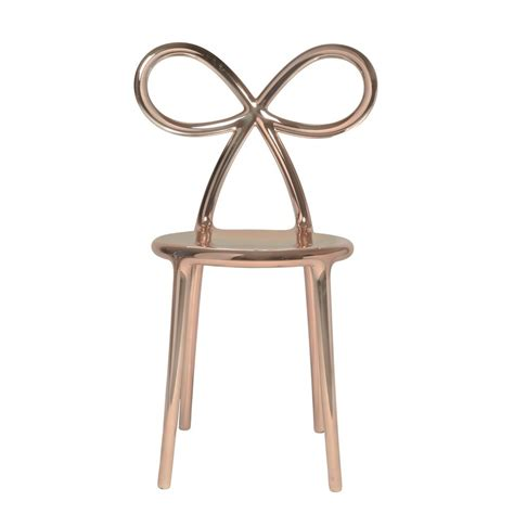 chaise desing ribbon chair metal chaise design qeeboo avec dossier en