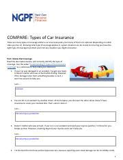 Learn vocabulary, terms and more with flashcards, games and other study tools. Car Insurance Worksheet For Students - Worksheet List