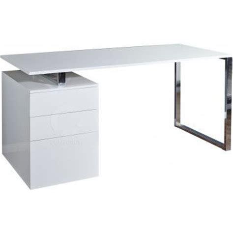 bureau blanc laqué ikea table bureau design bureau design avec rangement