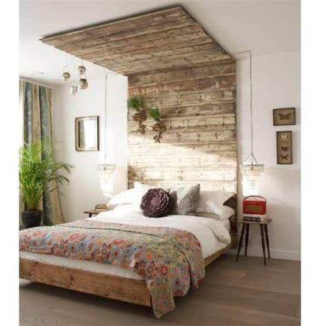 cool diy wooden headboards shelterness