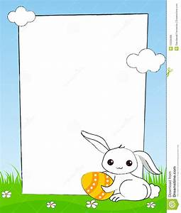 Easter Bunny Border Clipart - Clipart Suggest