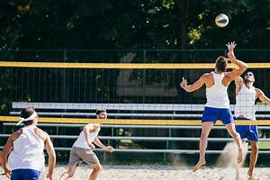 The Standard Dimensions And Measurements Of A Volleyball Court