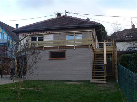 arkobois extension sous sol avec toiture terrasse et